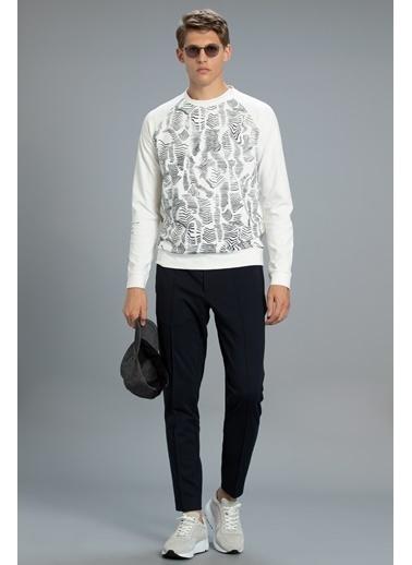 Lufian Sweatshirt Beyaz